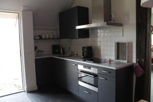 Een keuken of kitchenette bij De Rheezermars