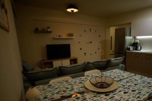 Μια τηλεόραση ή/και κέντρο ψυχαγωγίας στο Sandika apartments