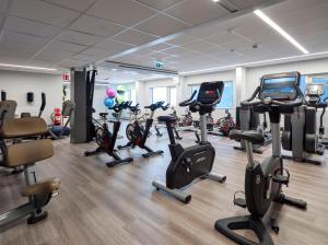 The fitness center and/or fitness facilities at Gothia Towers Hotel