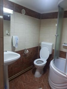 A bathroom at Vila Tom Cris