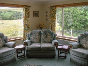 A seating area at Lower Brae