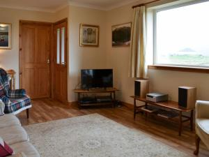 A television and/or entertainment center at Padraig's Cottage