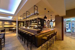 The lounge or bar area at Domicil Leidinger