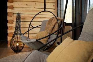 Oleskelutila majoituspaikassa Willa Lumia
