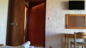 TV o dispositivi per l'intrattenimento presso Angelos Κandia Apartments