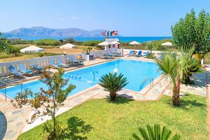 A view of the pool at Palladion Hotel or nearby