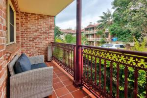 A balcony or terrace at Carrington Terrace No 2 at South West Rocks