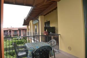A balcony or terrace at Casa Vacanze Serraglie