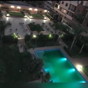 A view of the pool at Appartement Elias Marrakech or nearby