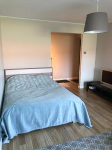 A bed or beds in a room at 1-Bedroom apartment in city centre