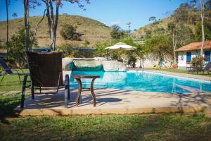 The swimming pool at or close to ECO RESORT BELA RIBA