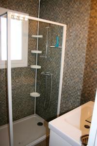 A bathroom at Aubarry