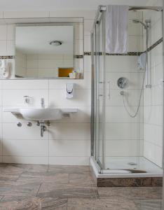 A bathroom at Aristo