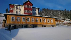Snezka Residence during the winter