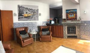 The lobby or reception area at Carcavelos Beach House