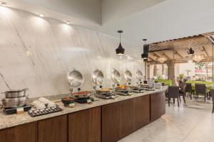 A restaurant or other place to eat at DoubleTree Suites by Hilton Saltillo