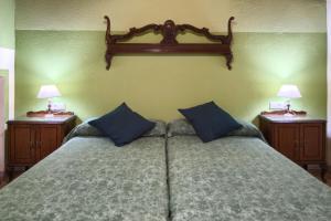 A bed or beds in a room at Mirador del Maestrazgo