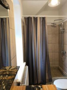 Ванная комната в Усадьба Выкопань