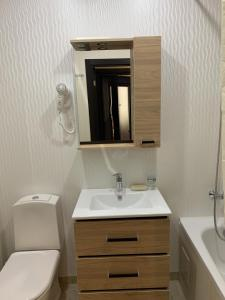 A bathroom at Kayut-Kompania All-Inclusive