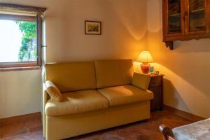 A seating area at La casina sulle Mura