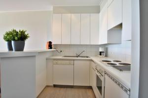 A kitchen or kitchenette at Scorpio B