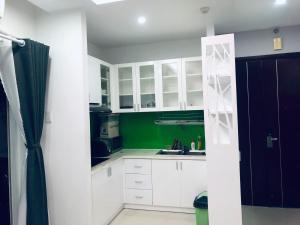 A kitchen or kitchenette at Pegasus Bien Hoa