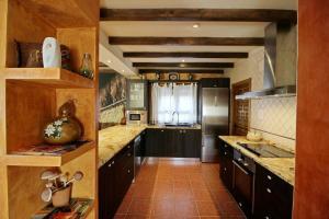A kitchen or kitchenette at El Secadero