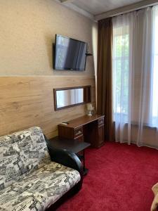 A seating area at Kayut-Kompania All-Inclusive