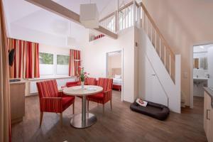 Ein Badezimmer in der Unterkunft Ferienzentrum Trassenmoor