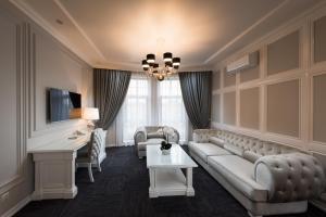 Гостиная зона в Бутик отель Столица