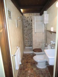 A bathroom at Agriturismo Case Mori