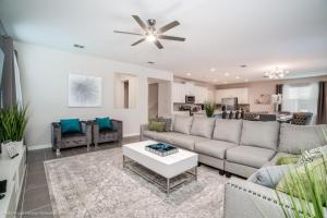 A seating area at 1719Cvt Orlando Newest Resort Community Home Villa
