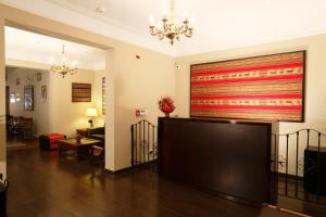 The lobby or reception area at Casa Suyay