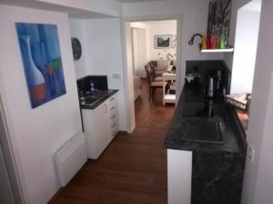 Küche/Küchenzeile in der Unterkunft Altstadt Apartments