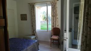 Coin salon dans l'établissement 1321 Route de l'Escalet villa les oliviers