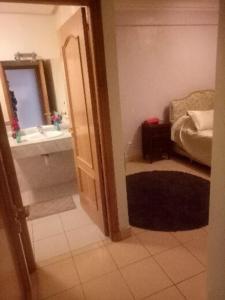 A bathroom at Résidence Faiza