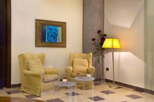 Area soggiorno di Ulisse Deluxe Hostel