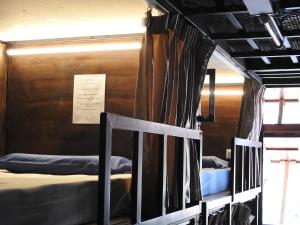 A bunk bed or bunk beds in a room at The Bunk