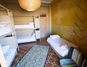 A bunk bed or bunk beds in a room at Villa Verde