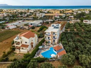 Άποψη από ψηλά του Kleanthi Apartments