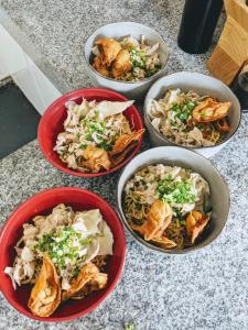 Lunch and/or dinner options for guests at Ohana Retreat Bali