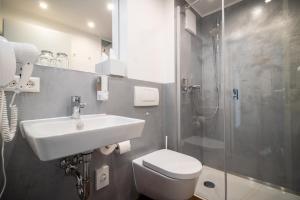 A bathroom at Hotel Konle