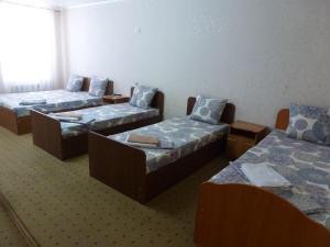 Кровать или кровати в номере Hotel Pobeda