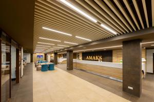 The lobby or reception area at Amaks Resort Novaya Istra