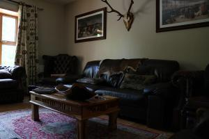 A seating area at Broomfield lodge