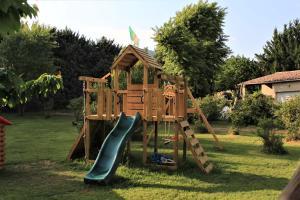 Children's play area at Gites le Pimayon