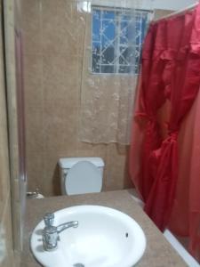 A bathroom at Trupsi Home