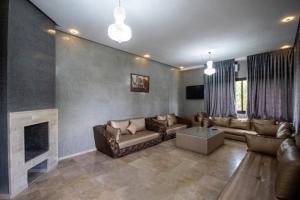 A seating area at Villa Dalia