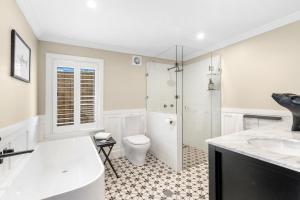 A bathroom at Block Eight Hunter Valley