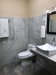 Ванная комната в Hotel Avila